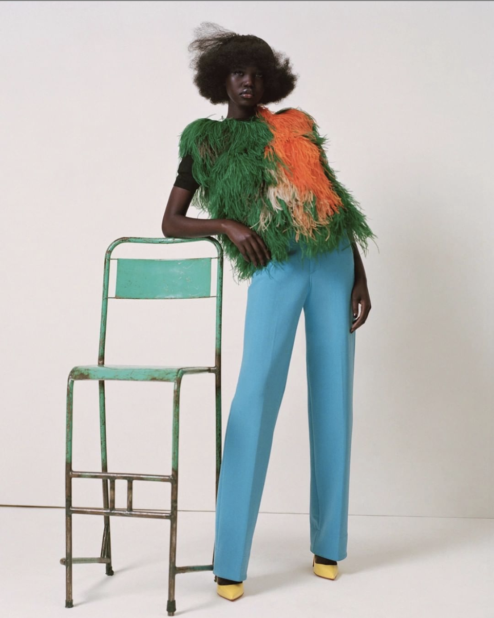 Adut Akech for i-D Magazine