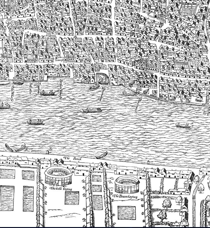 Clickable map of Renaissance London