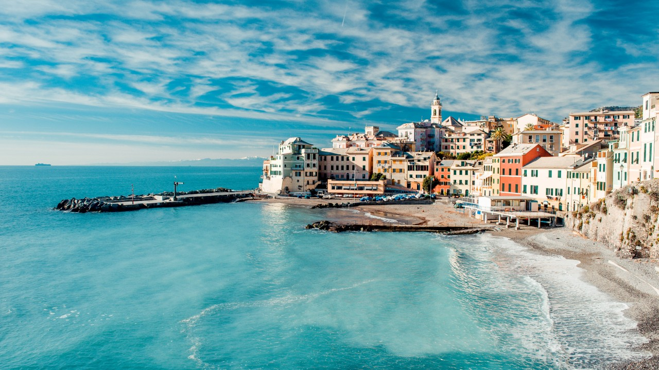 Italian Coast north of Rome