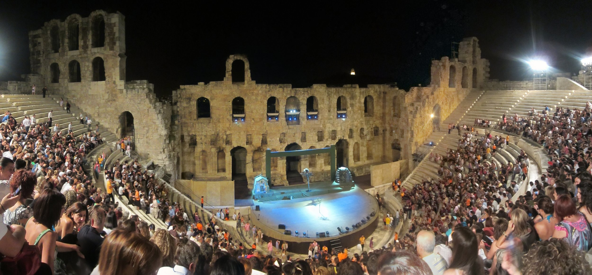 The Odeon, Athens