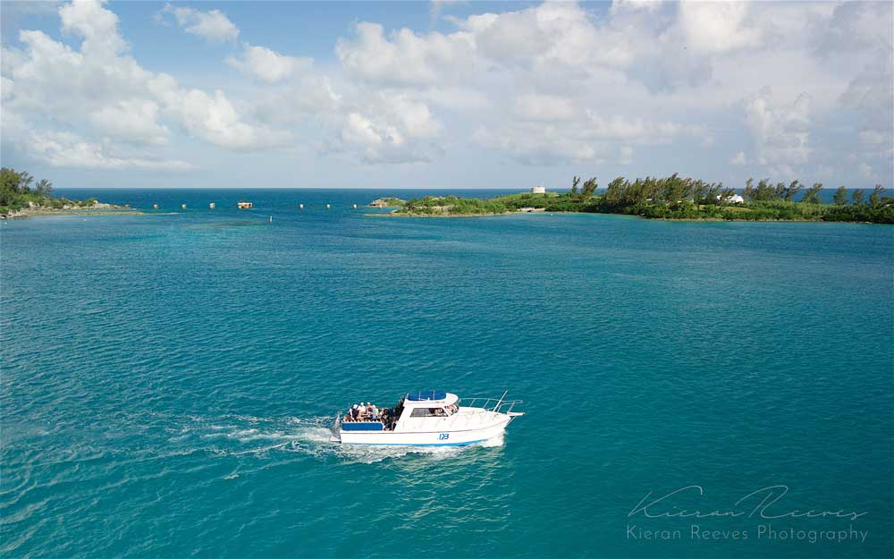Bottom Time   off to go diving on Bermuda's pristine reef.