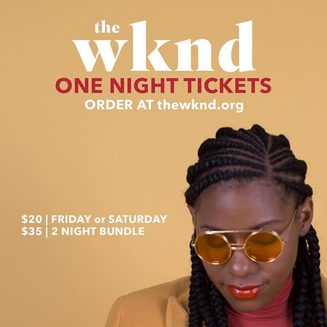 Stop by #TheWKND19 for one of the incredible nights for a discounted rate! Order your tickets at the link in bio!
