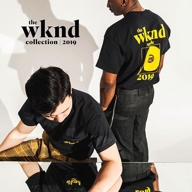 The WKND Collection | Get your EXCLUSIVE items at #TheWKND19