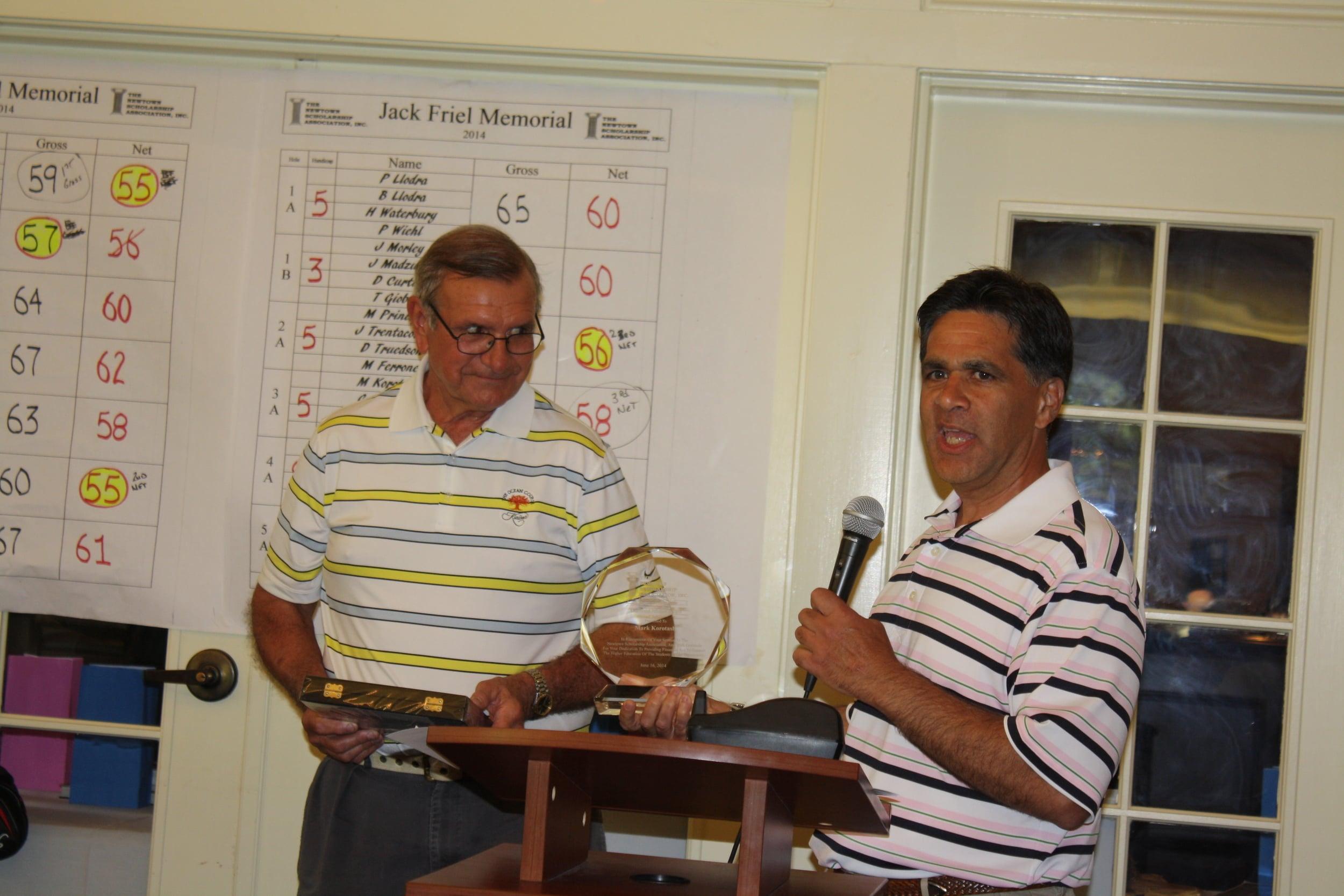061614 rrcc golf dinner recogognition Osborne Korotash 5473.JPG
