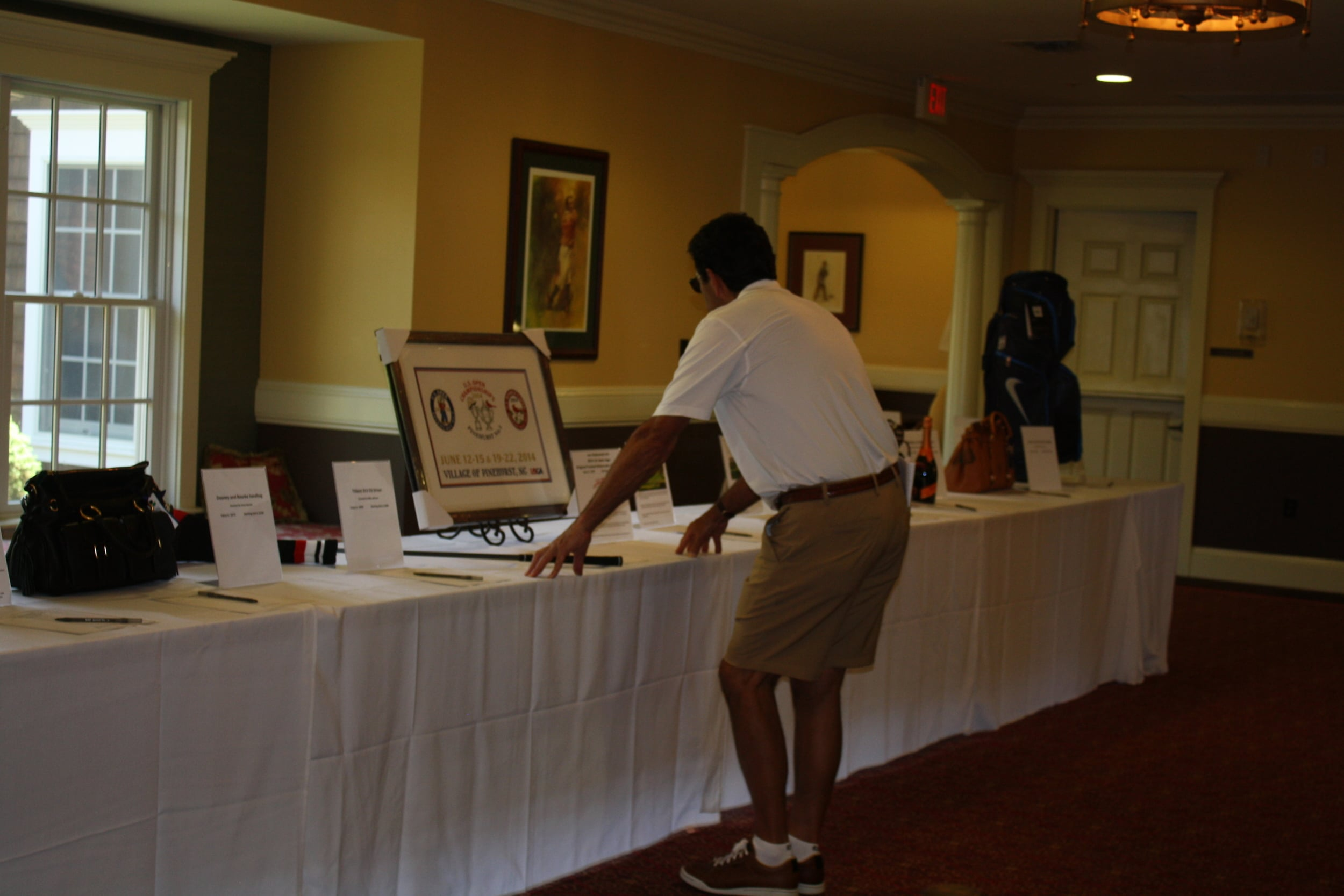 061614 rrcc golf silent auction (3).JPG