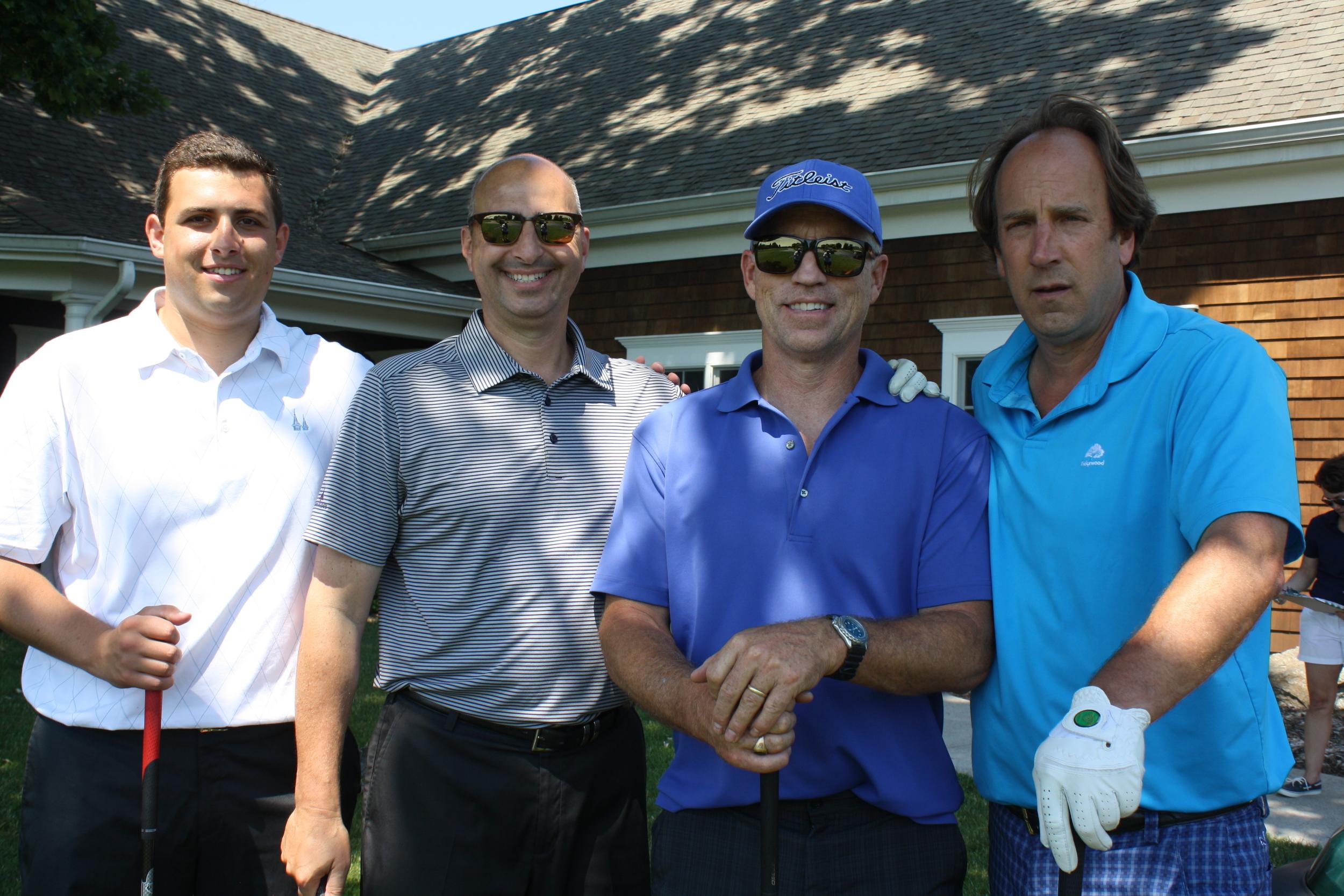 14 Phil Cappelli, George Trudell, Jay Maher, Bob Gleason.JPG