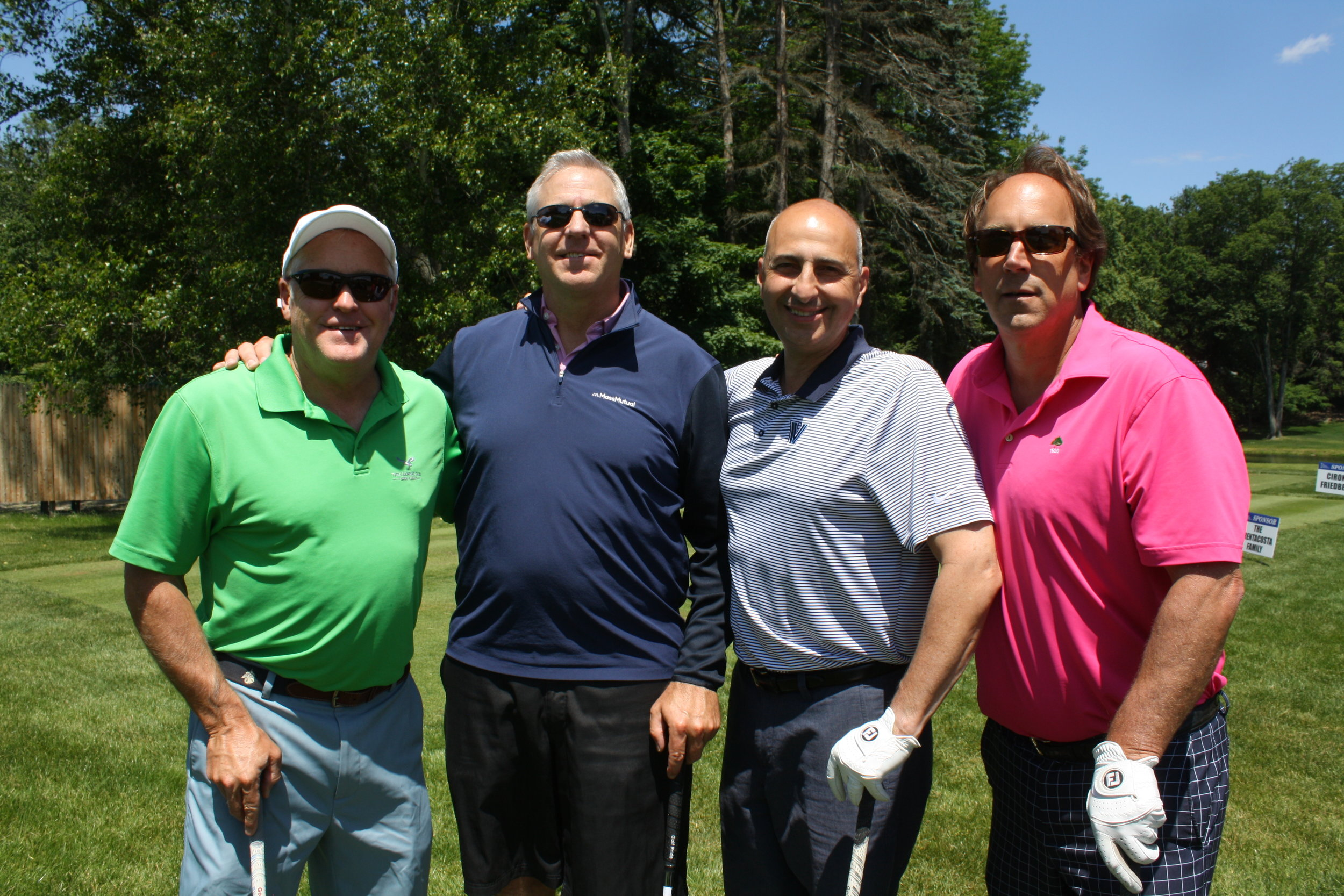 4 RRCC David Fletcher, Tim O'Connell, George Trudell, Bob Gleason.JPG