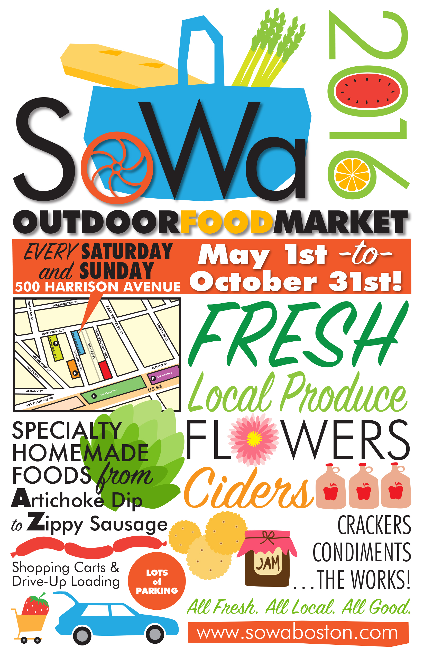 sowa outdoor food market