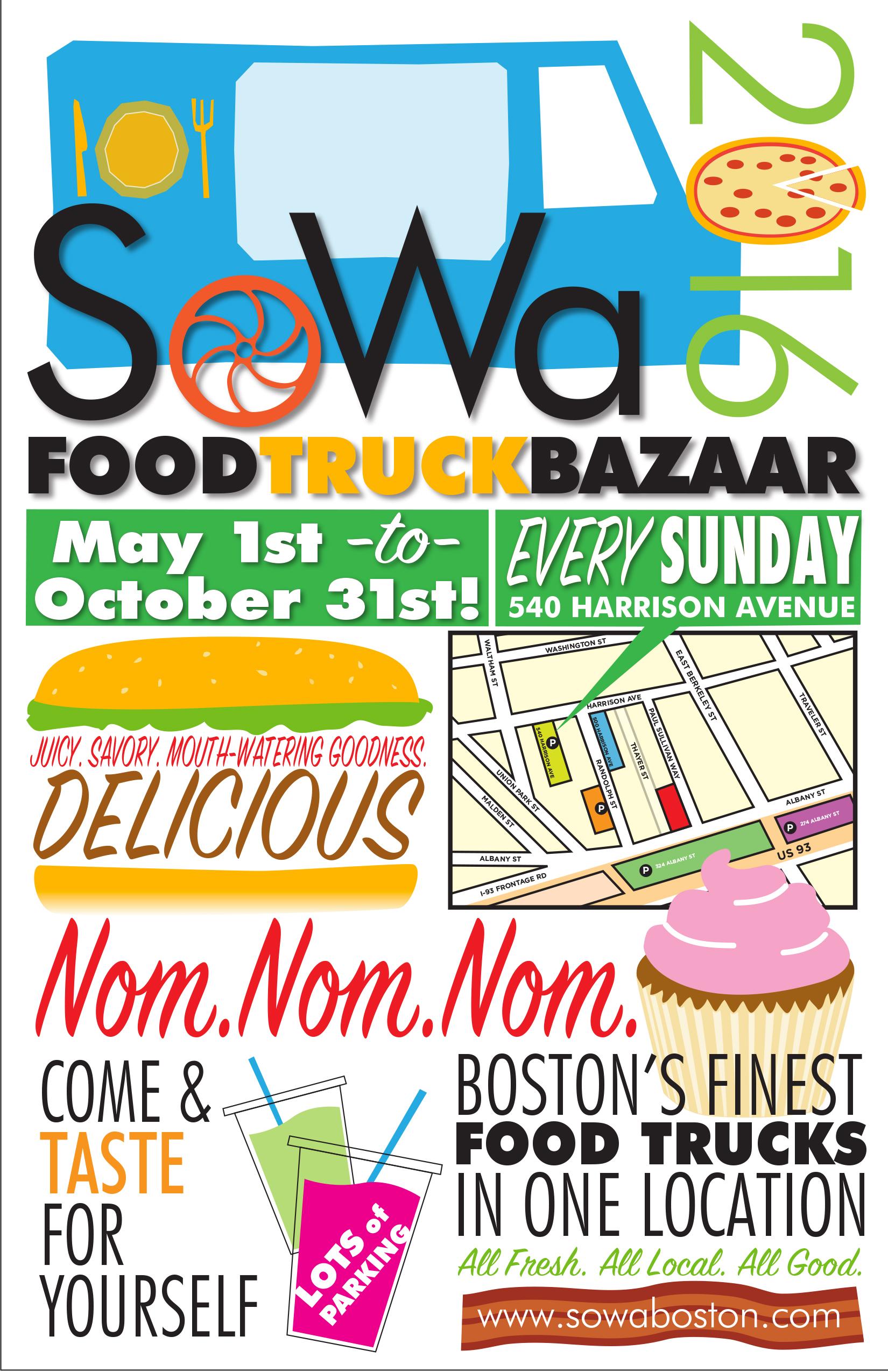 Sowa food truck bazaar