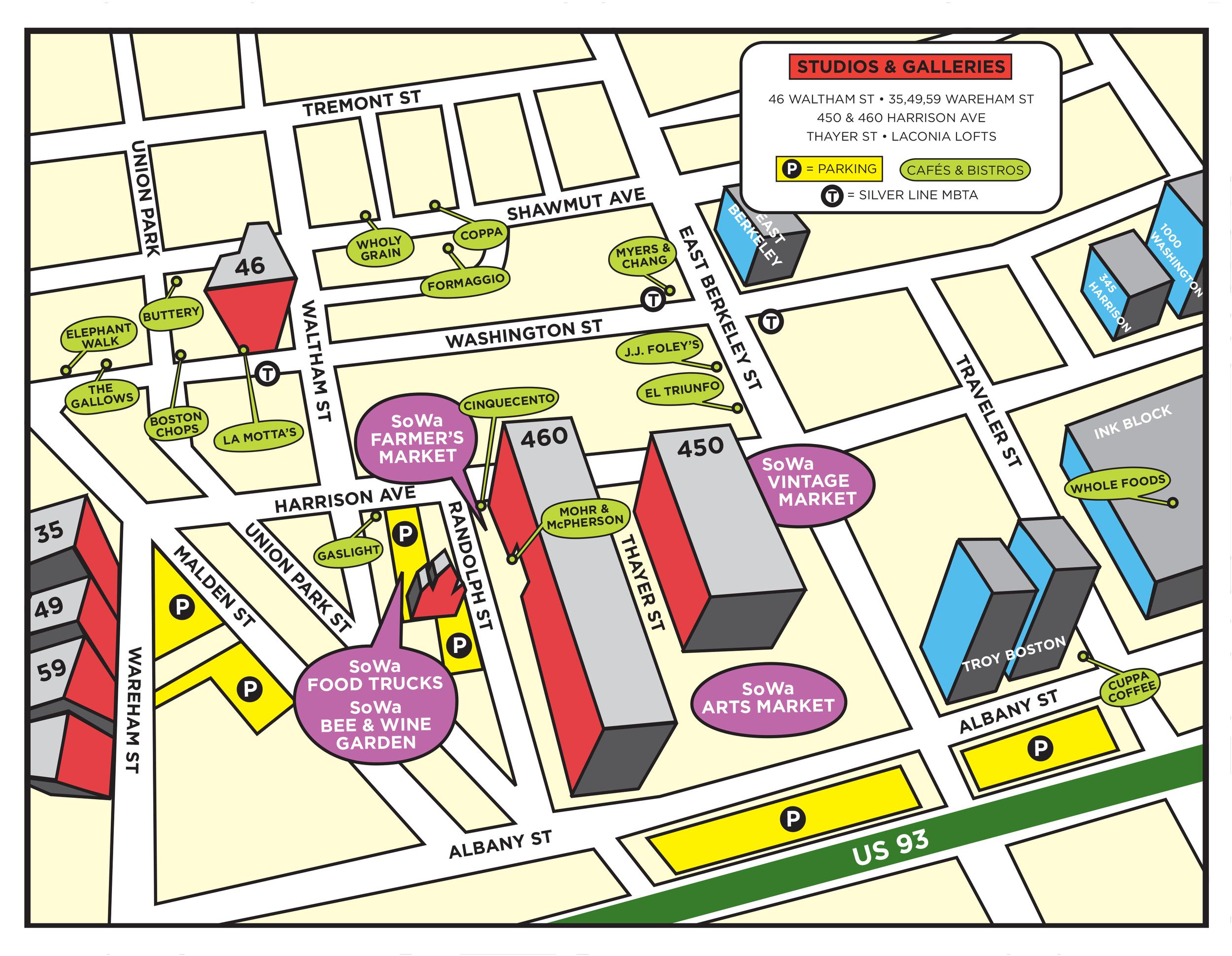 SoWa Map 2016