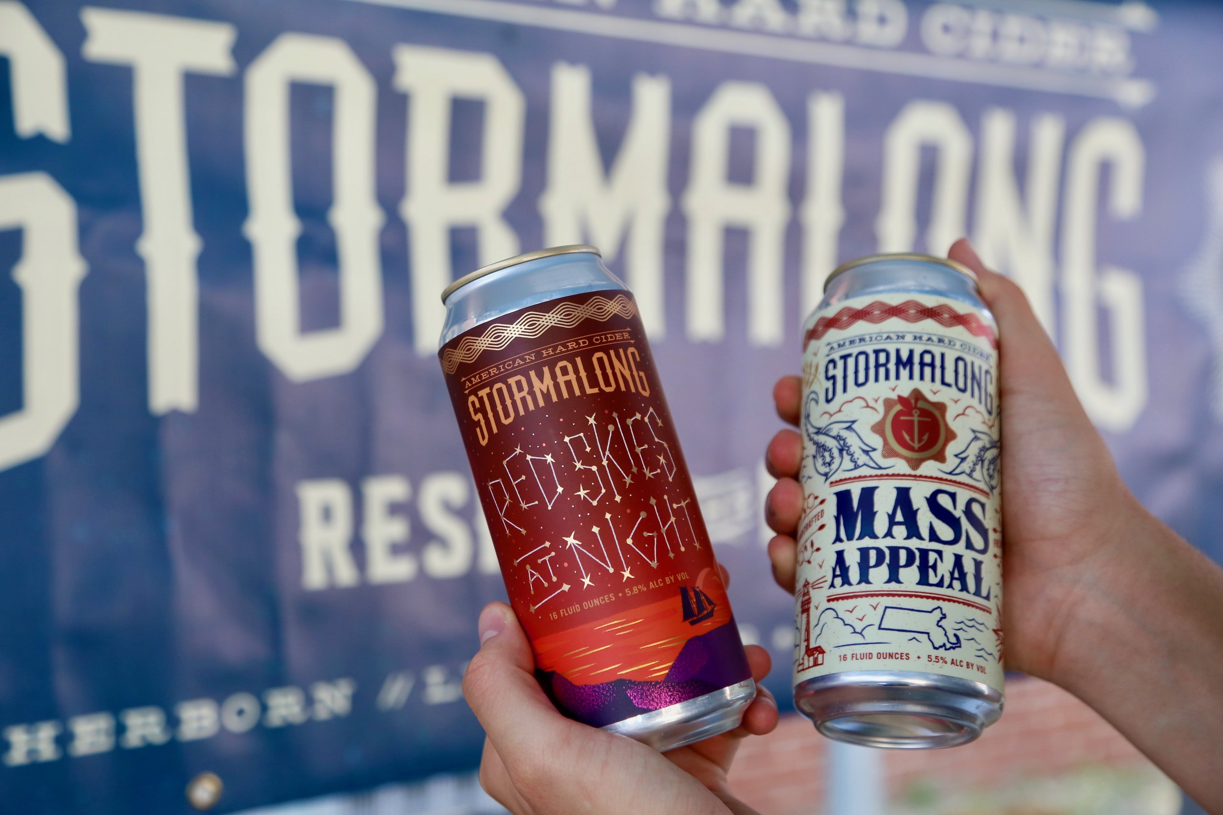 Stormalong Cider - Enjoy a nice chill cider. Try their classic flavors or stop by to see what special flavors they might be selling from week to week.