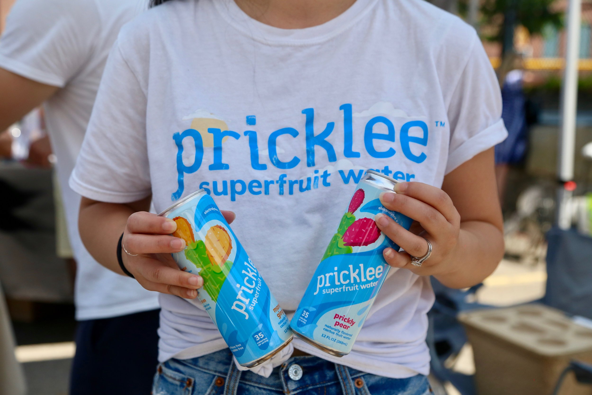 Pricklee - This superfruit based water is plant based, gluten free, and light on calories. A perfect refreshing option to sip on all summer long.
