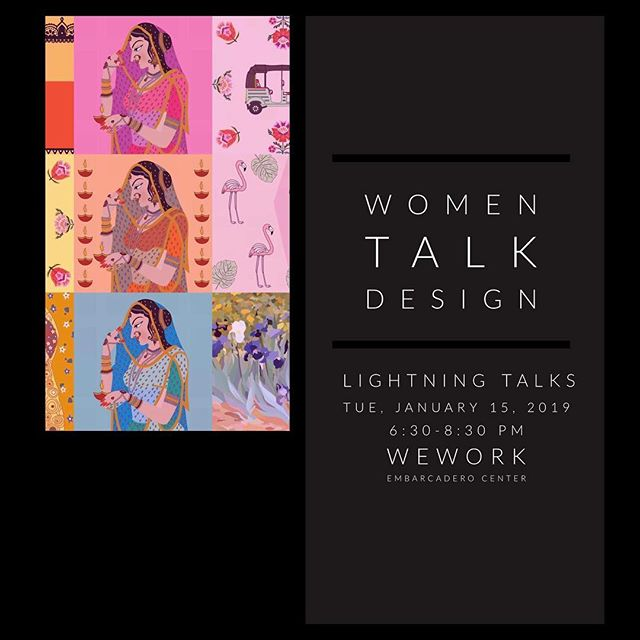 Hey Bay Area people I'm going to be a speaker along with few other designers tomorrow at Women Talk Design- Lightning Talks Event at WeWork Embarcadero Center from 6:30pm - 8:30pm. I'm also going to be selling some of my graphic illustrative prints at the event! Please take look if you come! Eventbrite info in my bio. And, also checkout Women Talk Design website to learn more about their speaking workshop. It was one the best workshops I've ever taken! They also offer scholarships for their workshops if money is an issue. #womentalksdesign #bayarea #graphicdesign #illustration #publicspeaking #adobespark