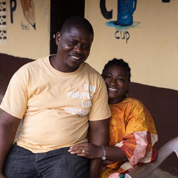 Bishop Emmanuel and Ramona Jones,  Lifesong for Orphans