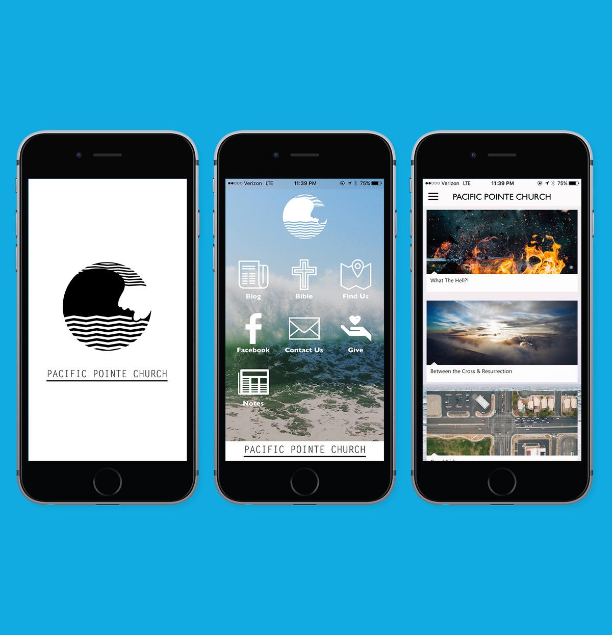 Pacific Pointe Church iOS app