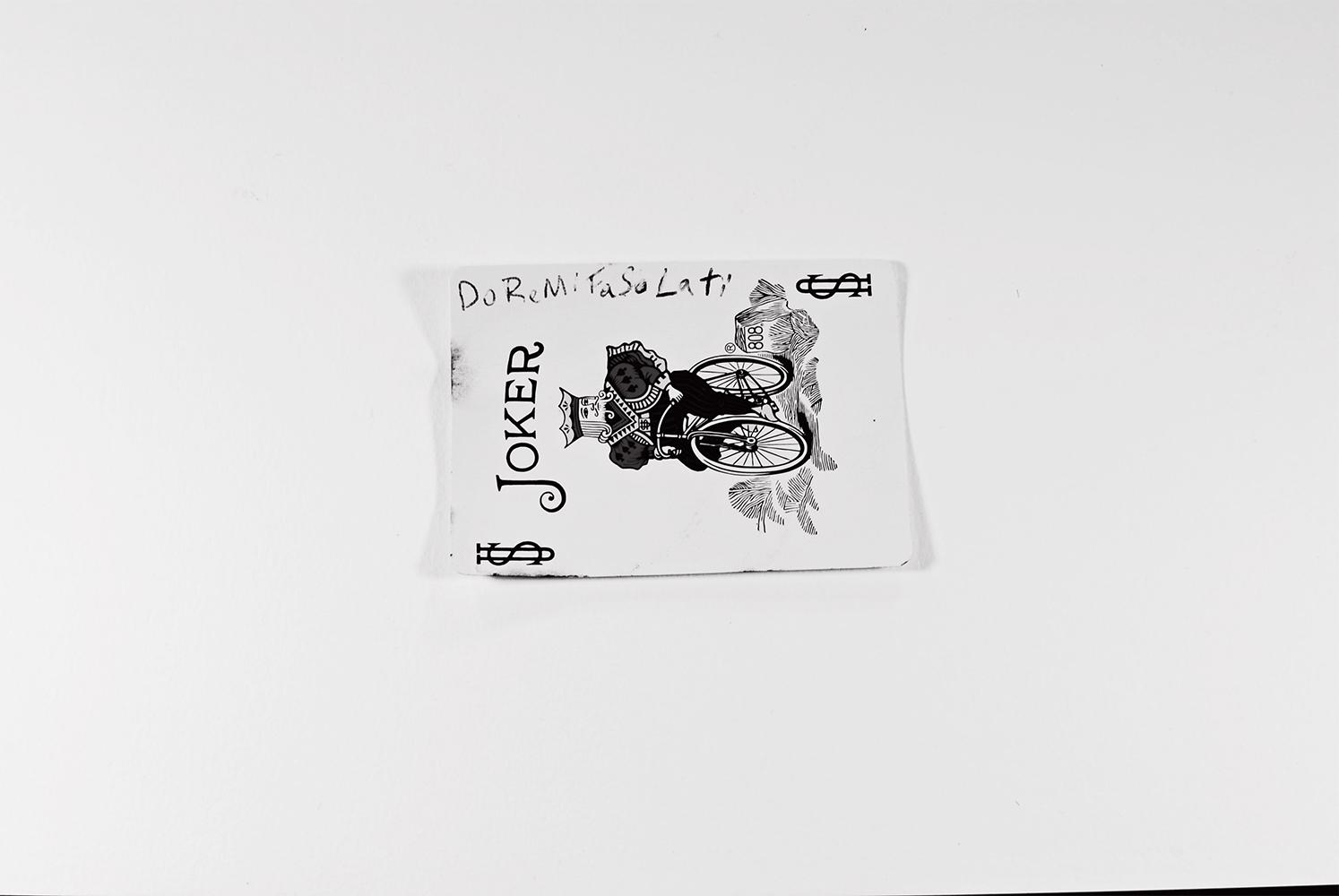 disguised as me album art joker card