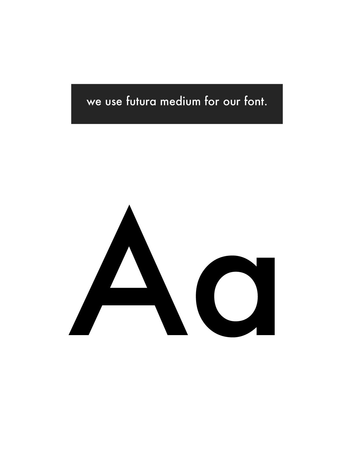 the painted nest studio futura body font