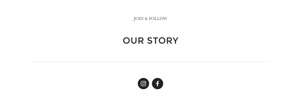 The Painted Nest Studio website our story