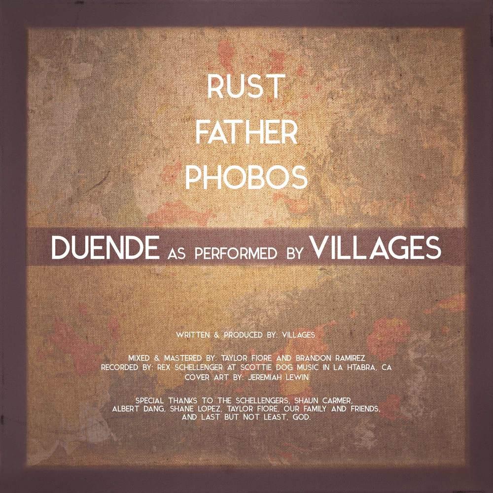 Villages Duende album art back