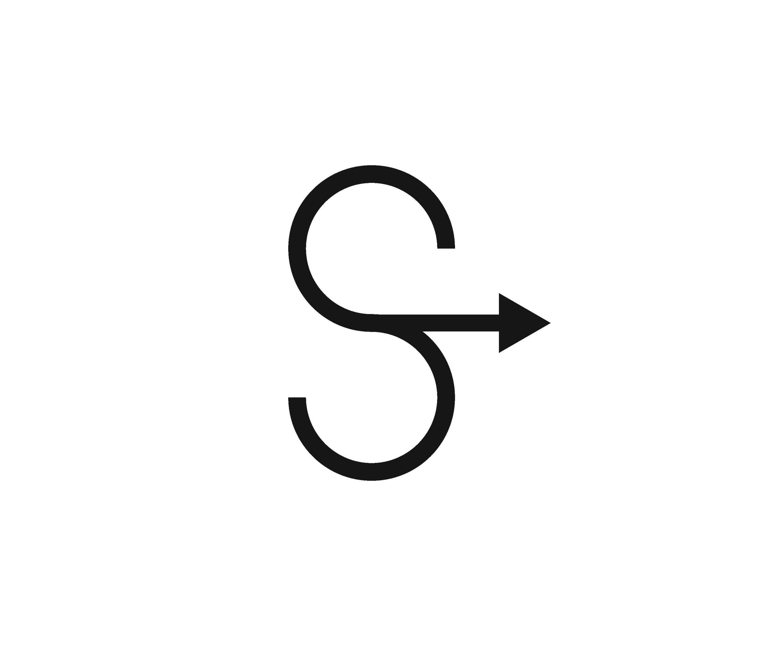 Stride Search identity logo concepts 2 arrow