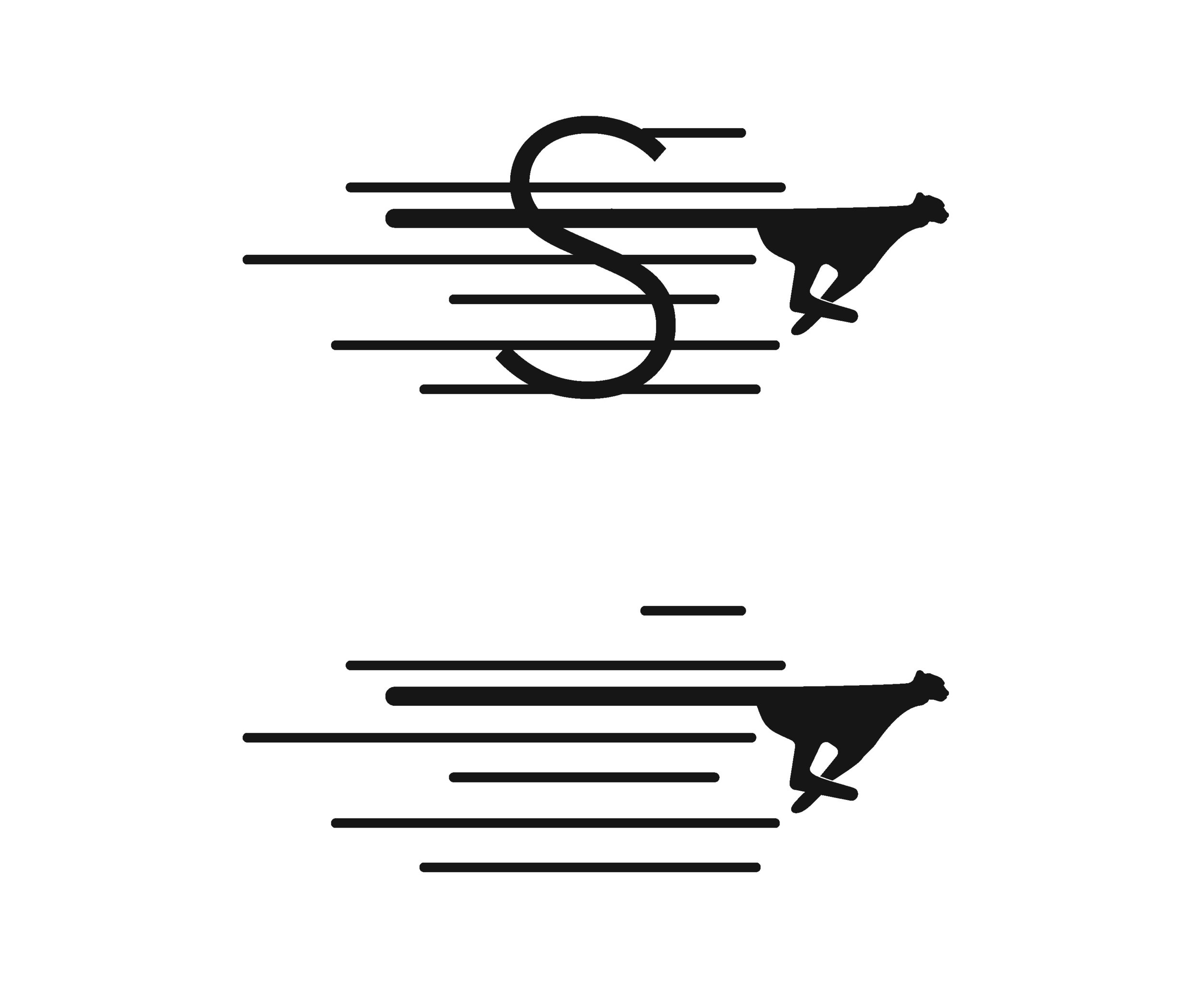 Stride Search identity logo concepts 2 cheetah lines