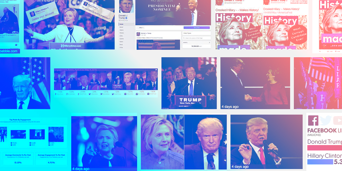 """Examples of Trump branding the term """"Crooked Hillary"""" from Google's search results"""