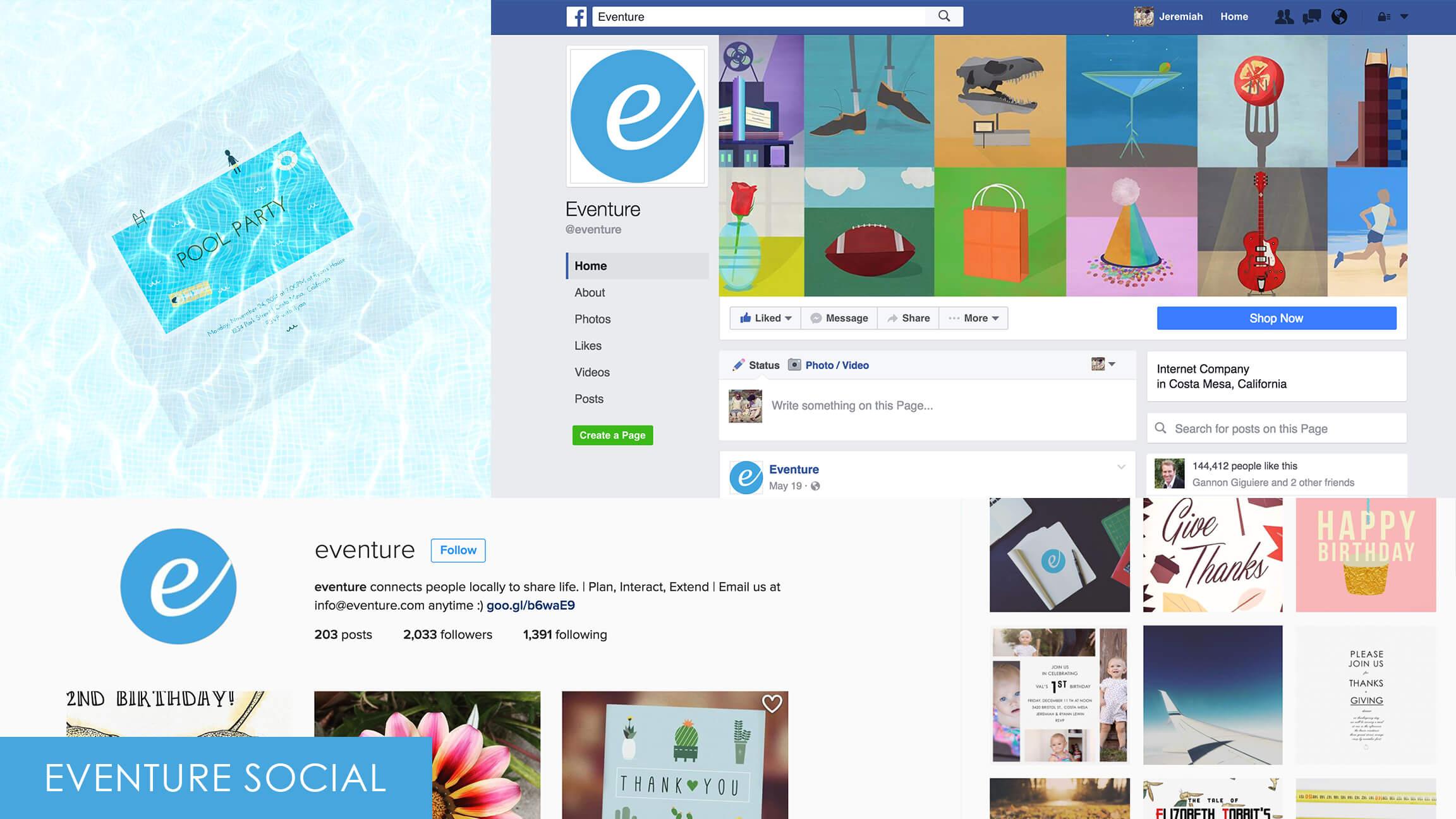 Eventure Social Media