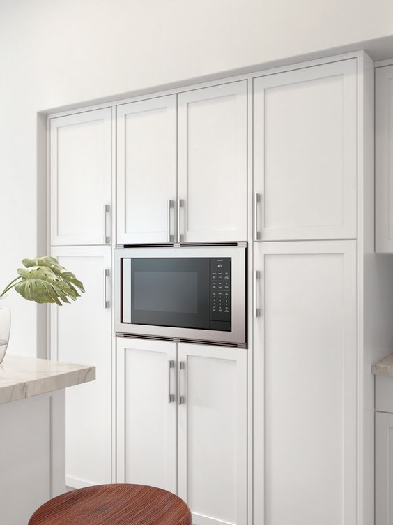 "The Wolf 24"" Drop-Down Door Microwave"