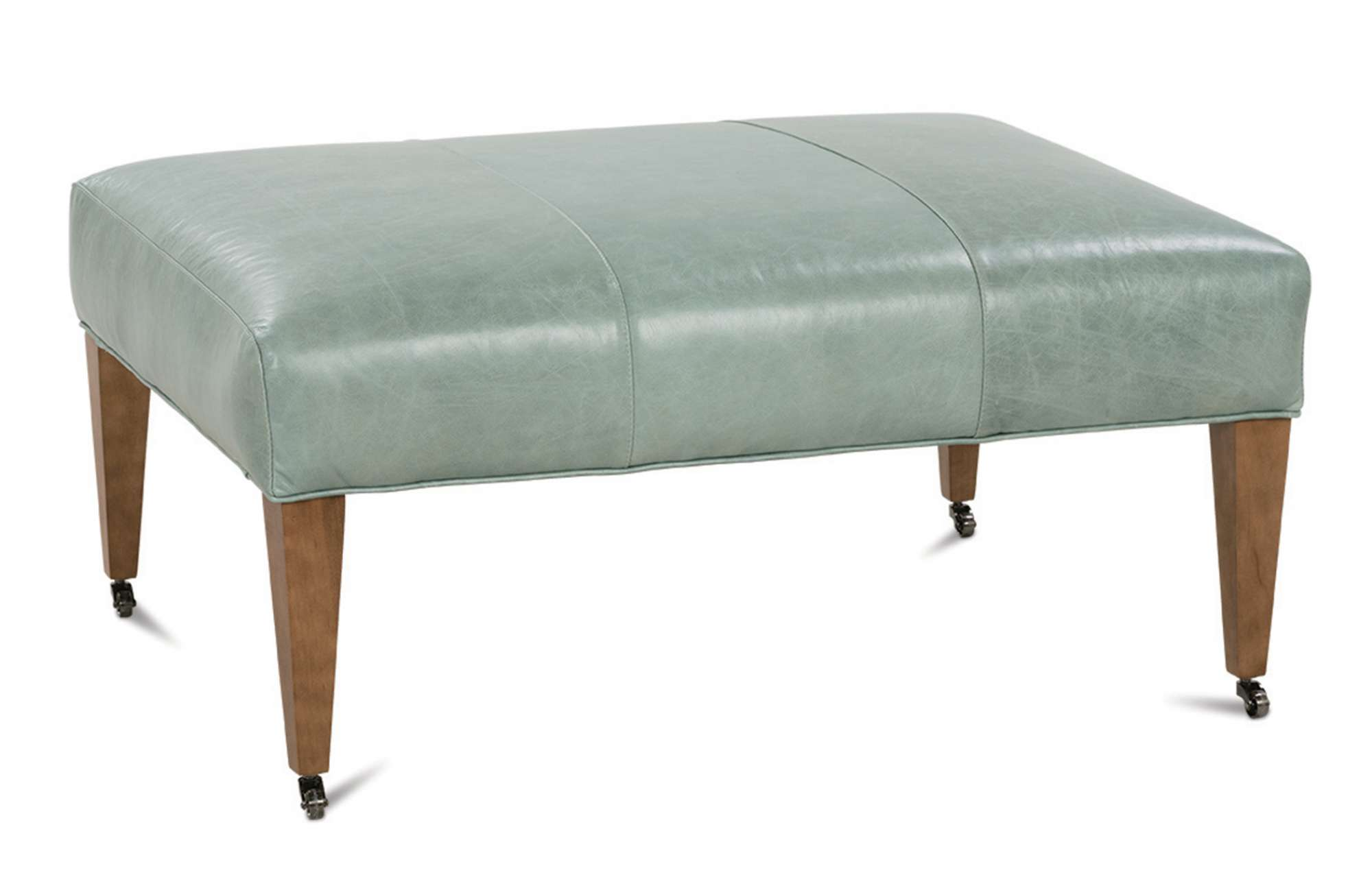 Ashby Leather Ottoman (click for details)