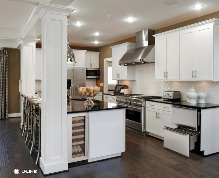5 Trends kitchen remodel. U-Line Kitchen appliances