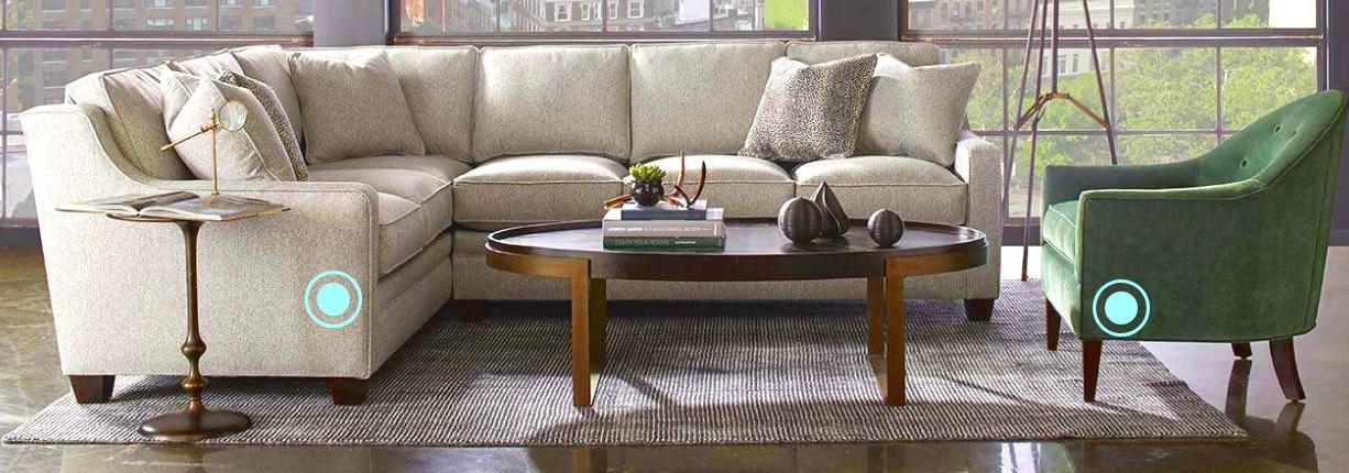 Living Room Design Rowe Furniture
