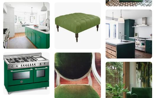 Green Luck Pinterest