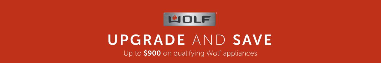 Wolf Rebates