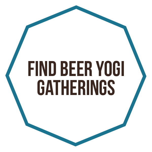 Find yoga & beer gatherings