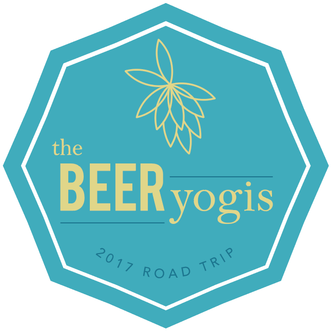 The Beer Yogis. United by Yoga and Beer. Beer Yoga gatherings, hosted by Mikki Trowbridge and Melissa Klimo-Major, across the United States.