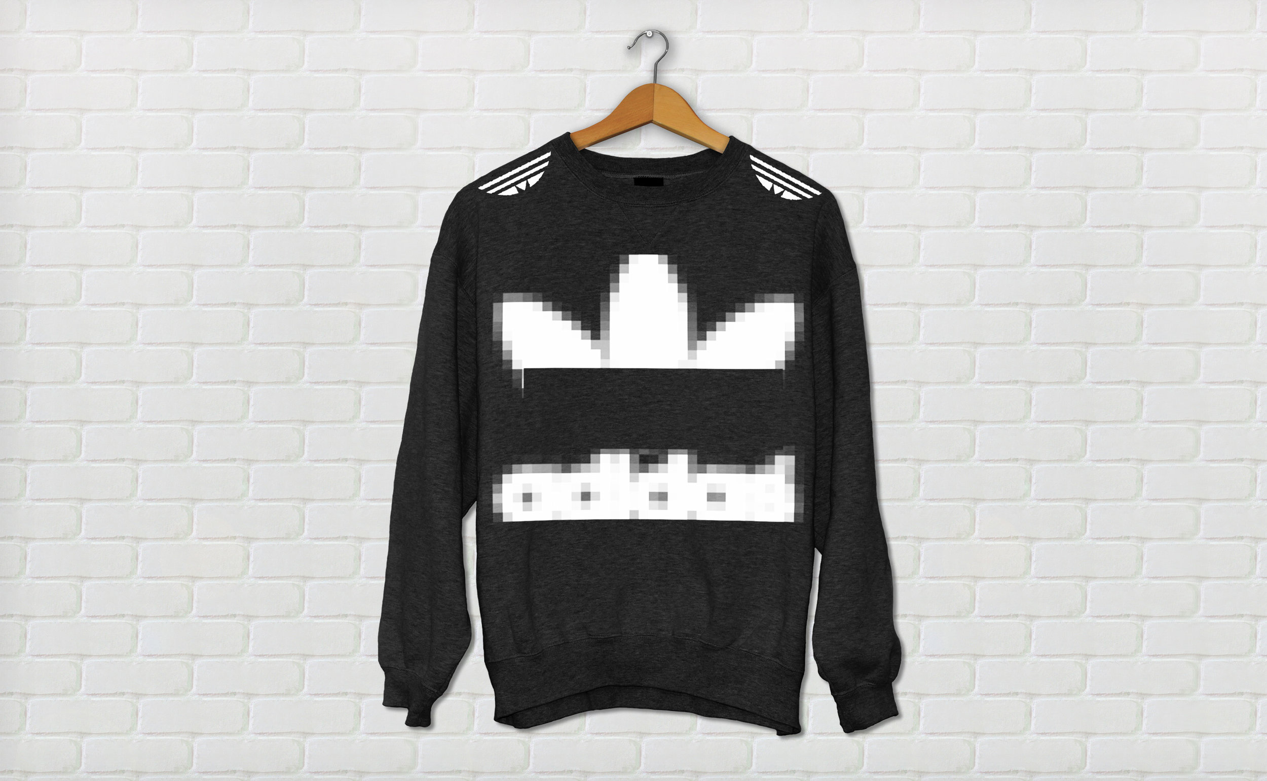 pixelated sweater from Mysprint$