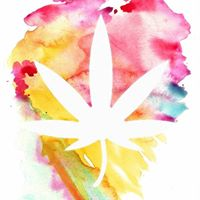 painted cannabis
