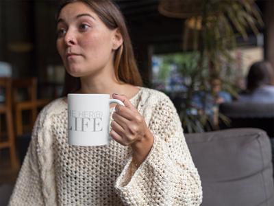 Her(B) Life mug
