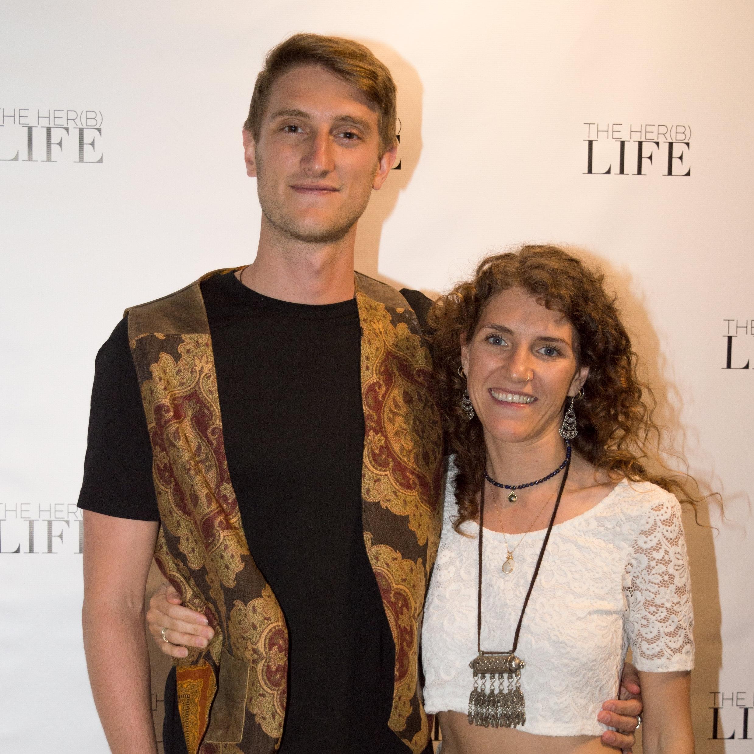David Karnezos and Natalie Hellyar