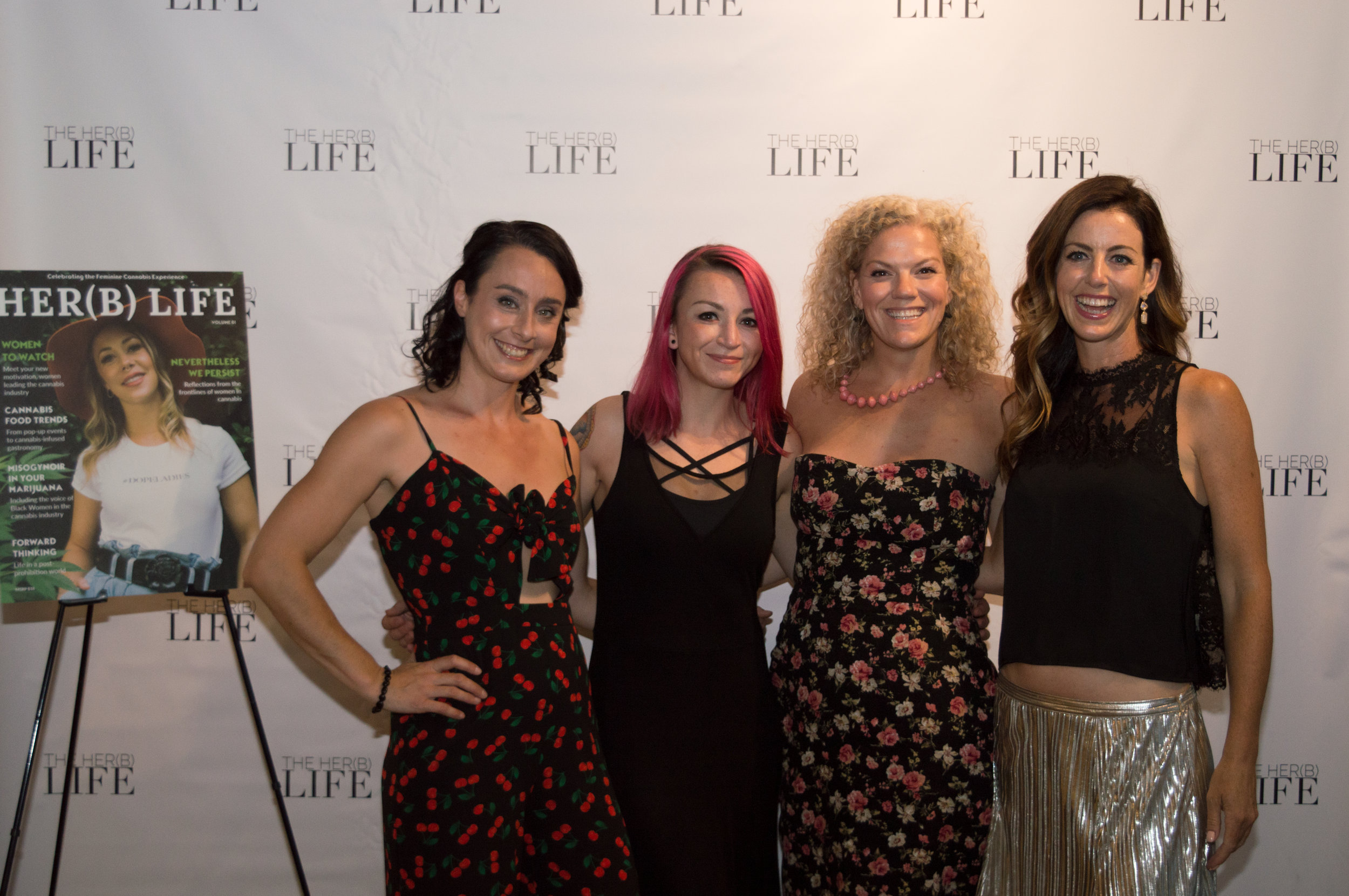 MaryBeth Lafferty, Amanda Siebert, Siobhan McCarthy and Unity Marguerite