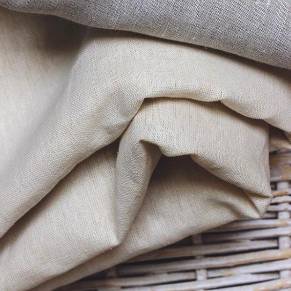 A close up look at the hemp textiles used to make the TWA TRENCH and KOA KIMONO via  Instagram