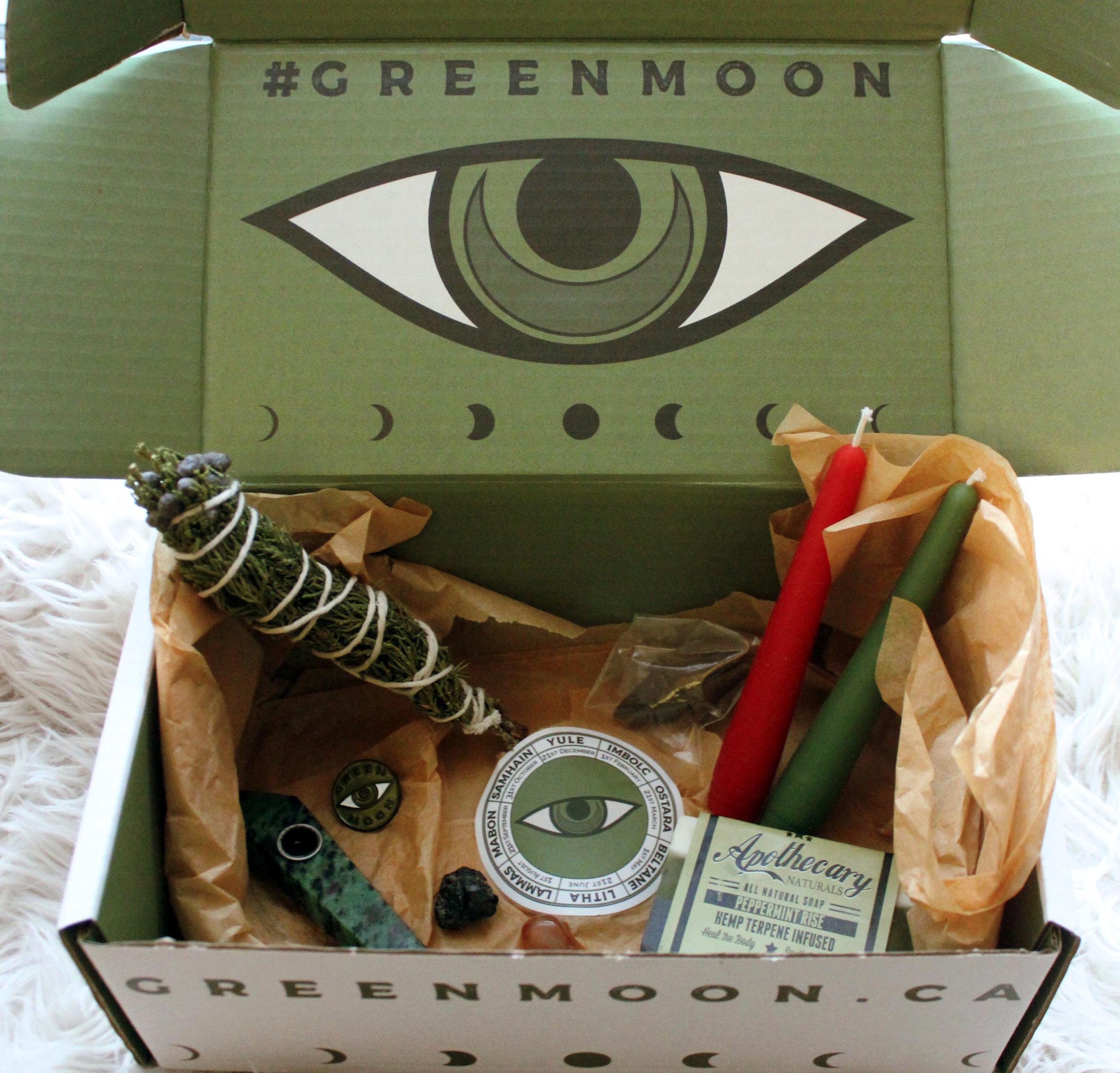 The Green Moon Apothecary Yule Box