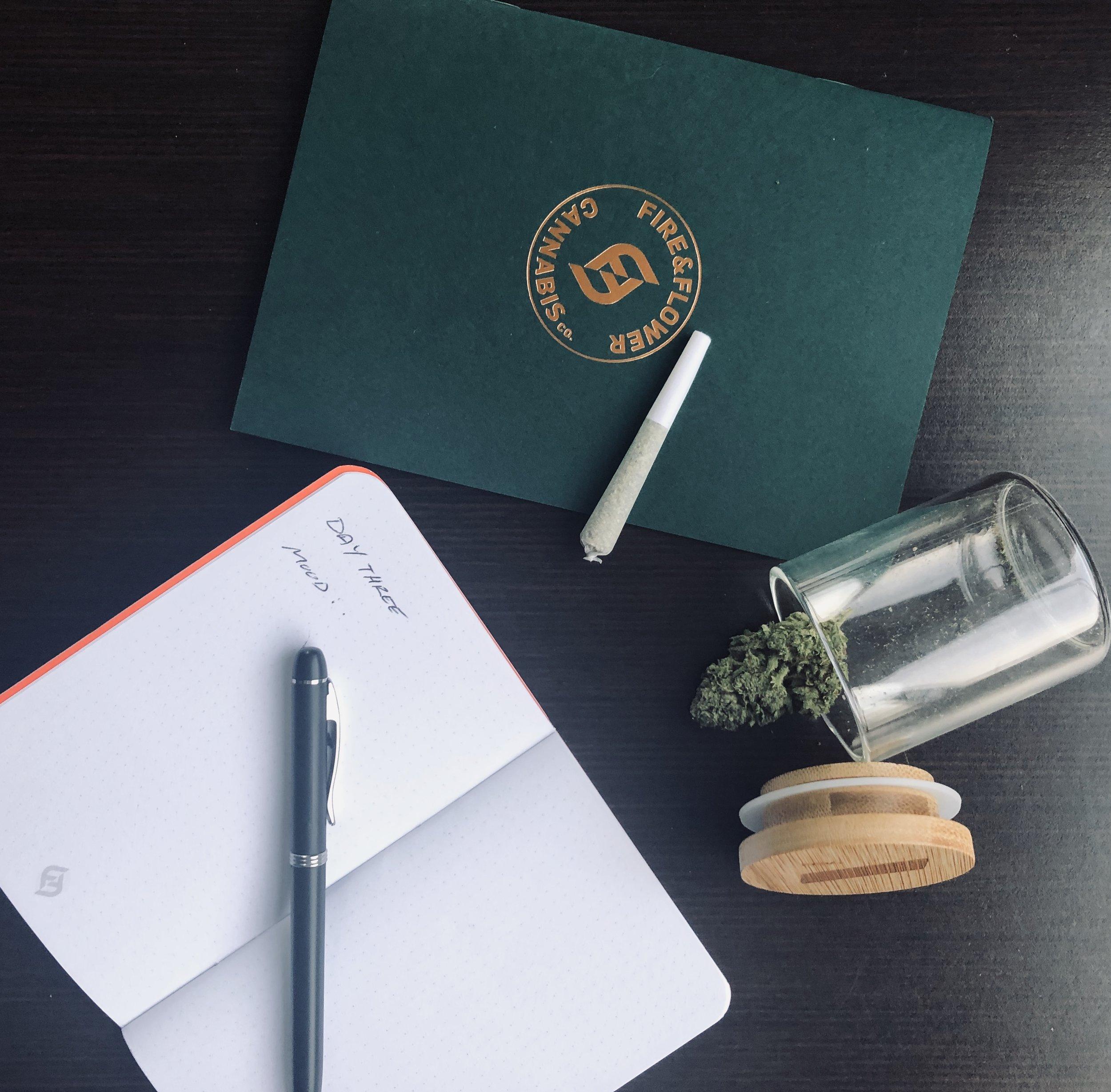 Journal courtesy of    Fire & Flower