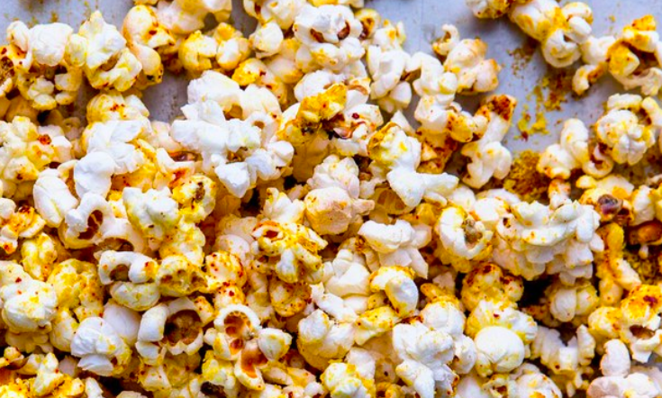 Super duper food popcorn for your next Netflix + sesh
