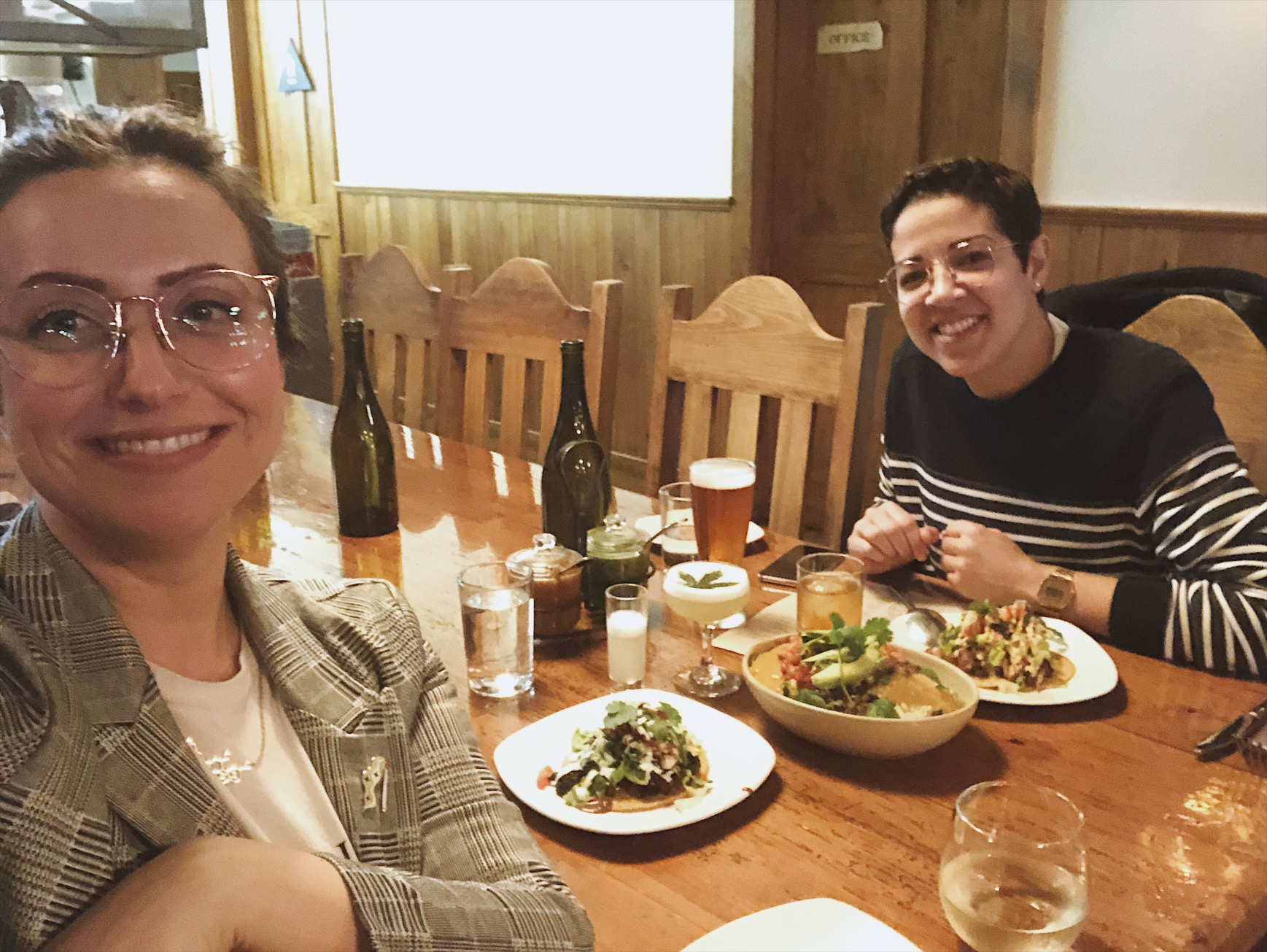 Lunch with my good friend Ciera who I met through the Ganja Goddess Getaway in 2017 <3