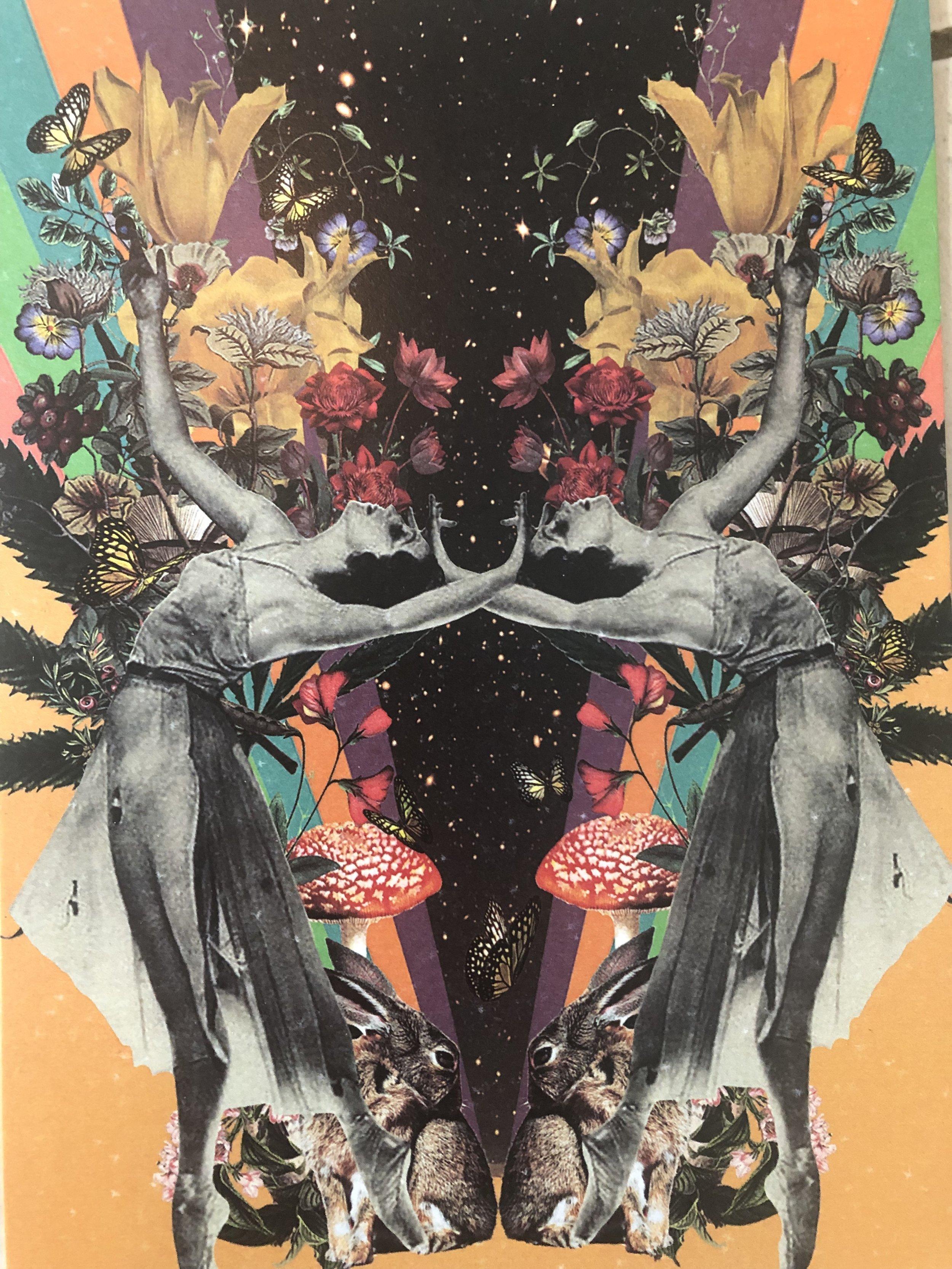 Custom Ostara Collage artwork by    @astralmoonbeam
