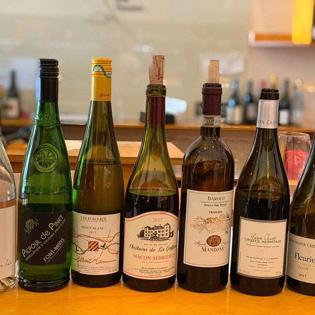 All in a days tasting.... looking for wines of integrity & flavor, that reflect their origins, terroir, producers... since 2002.  #naturalwines #knowyourwinemaker #knowyourwinemerchant #yannchave