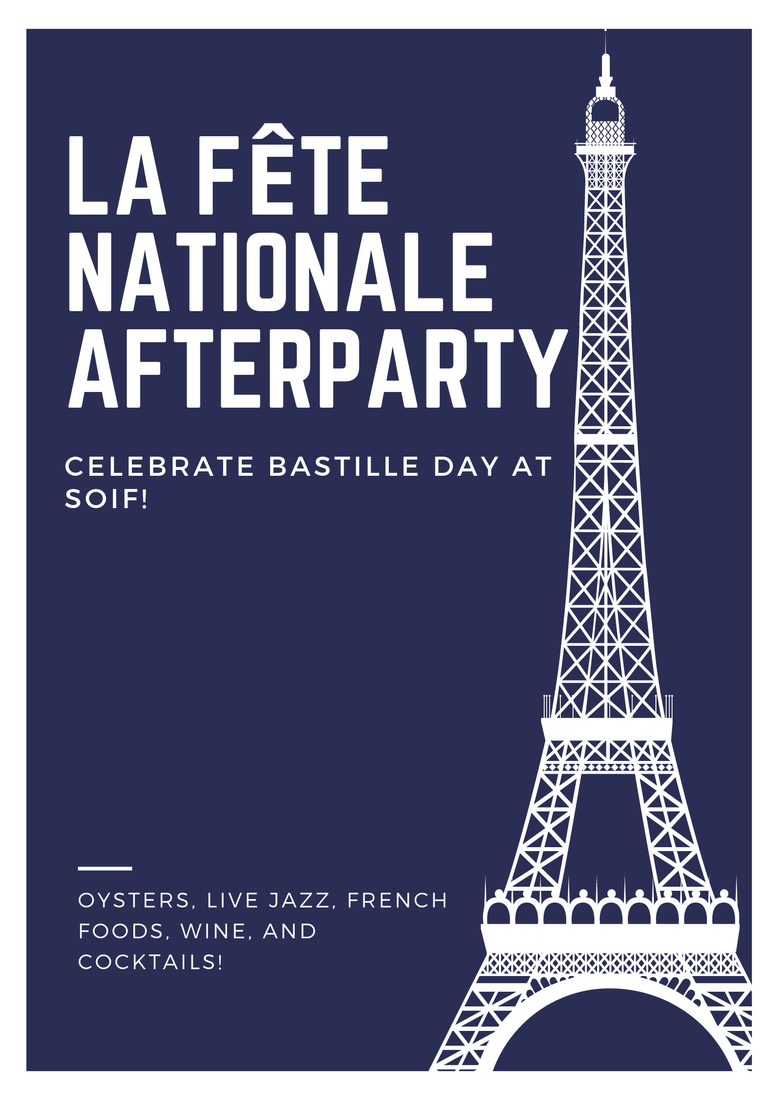 Pastel French Tower Bordered Poster-2.png