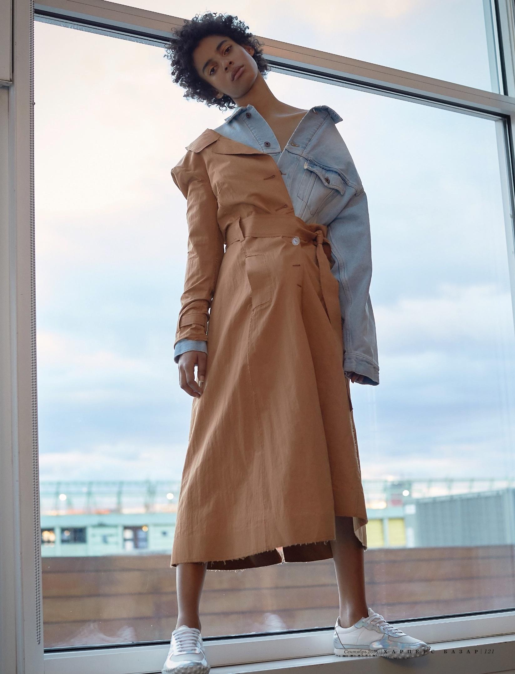 Off White VIrgil Abloh feature Harpers Bazaar KZ  Dimitri Hyacinthe