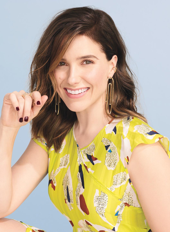 Sophia Bush Glamour Magazine